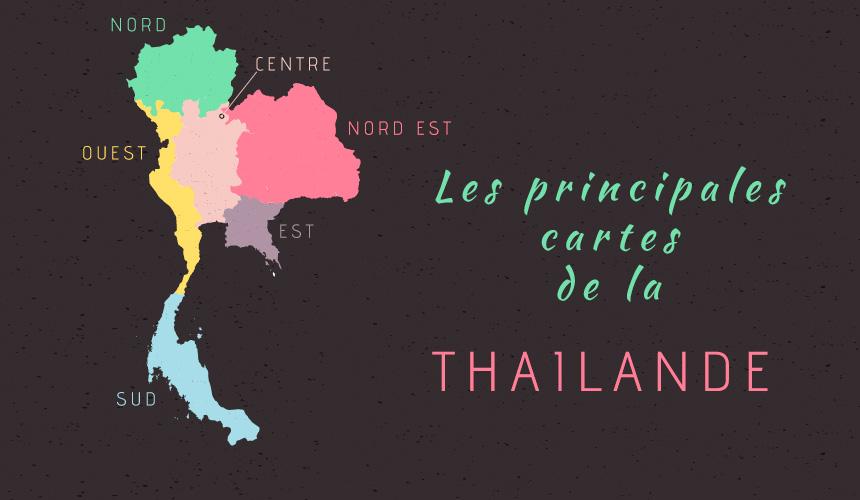 Carte Thailande Nord Ouest.Carte Thailande My Little Thailand