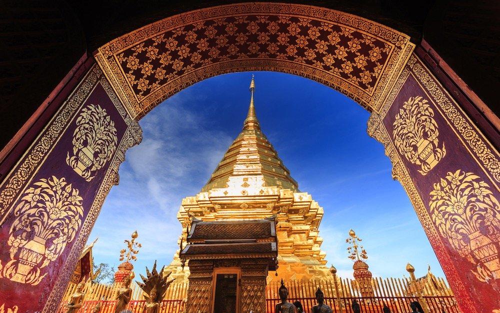 wat prathat doi suthep stupa