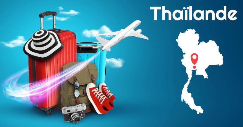 prendre valise thailande