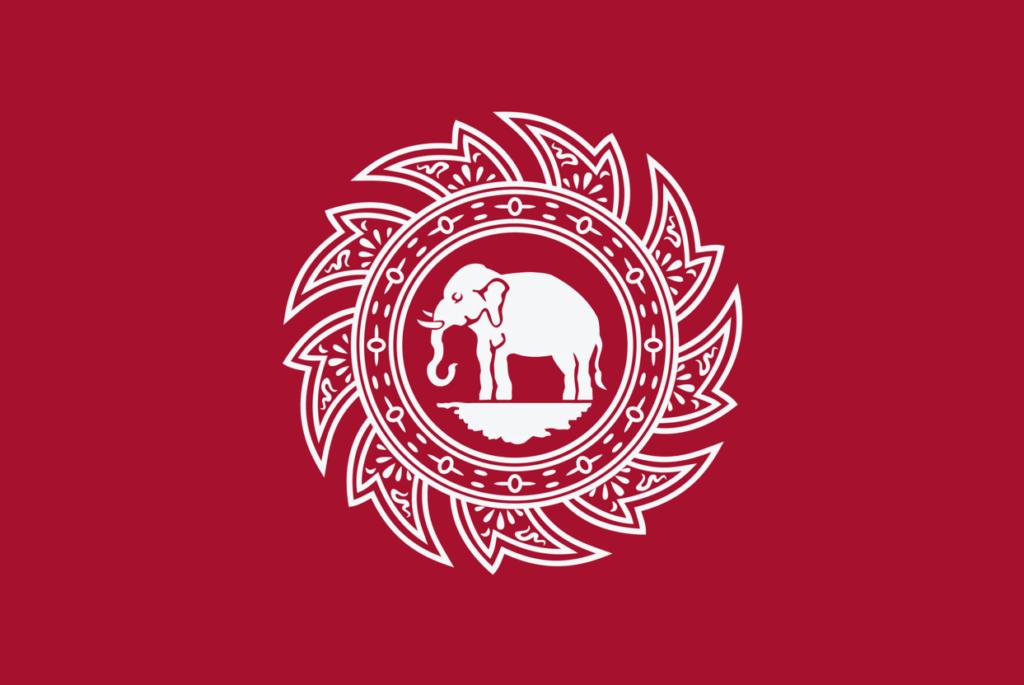 drapeau Thai 1817 chakra elephant