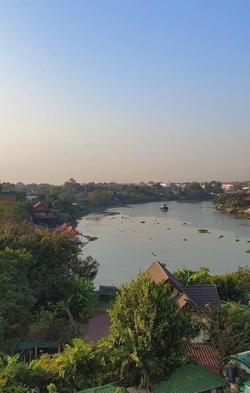 Fleuve Pa Sak Ayutthaya