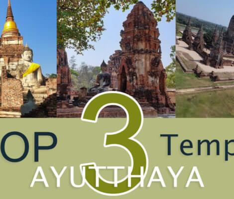 Temples a visiter Ayutthaya